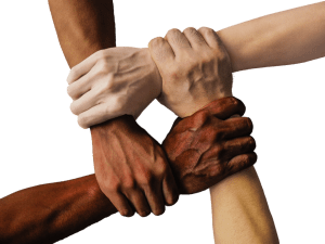 community-hand-unity people