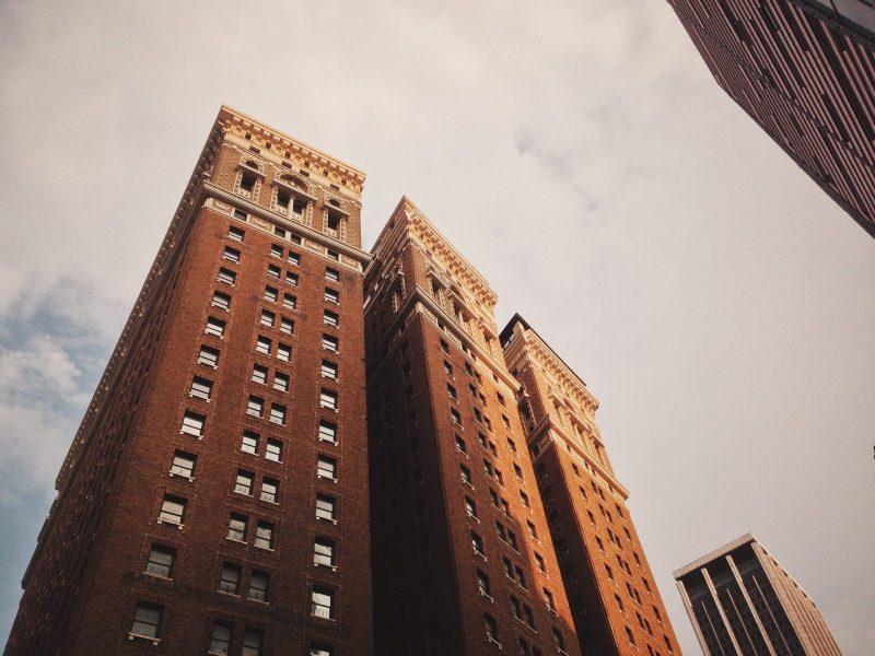 housing-condominium apartment brick tower
