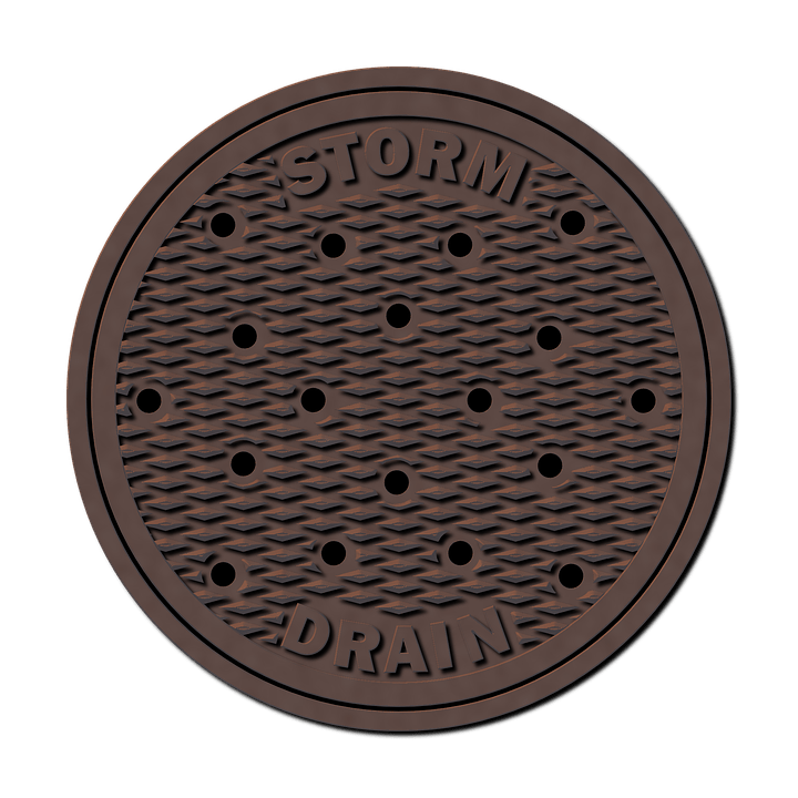 Storm-water-drain-manhole-cover