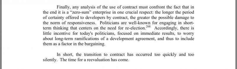 Land Use Regulation by Contract-Selmi