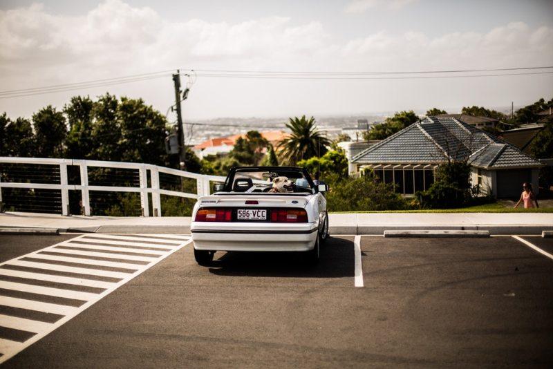 Parking lot car convertible