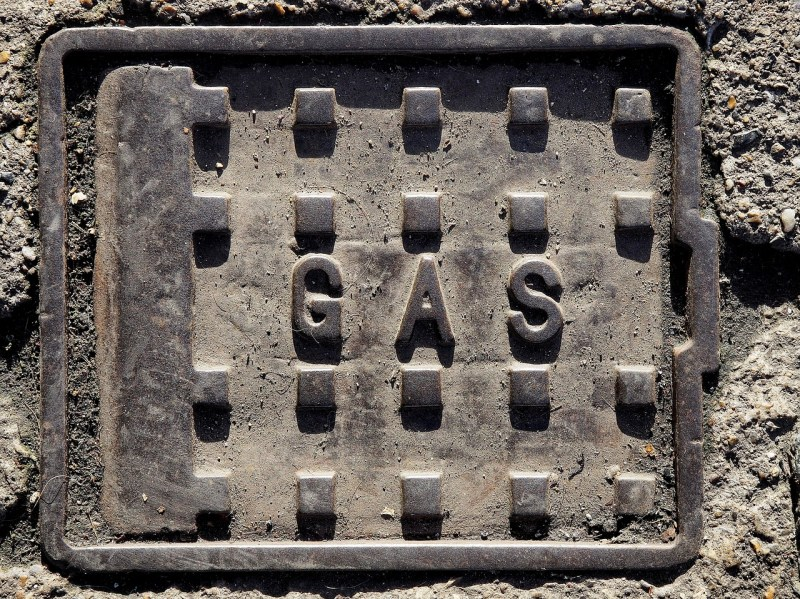 Gas utility cover