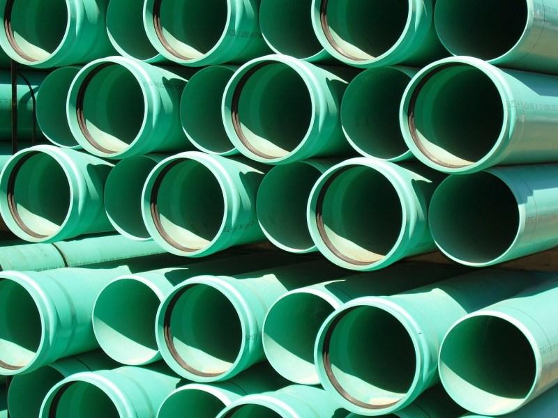 Green sewage sewer pipe