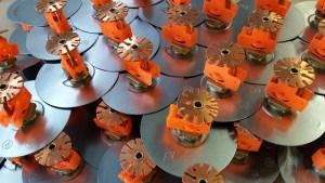 Fire sprinkler industrial parts