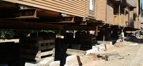 Crumbling foundation repair Lakeview Condo CT
