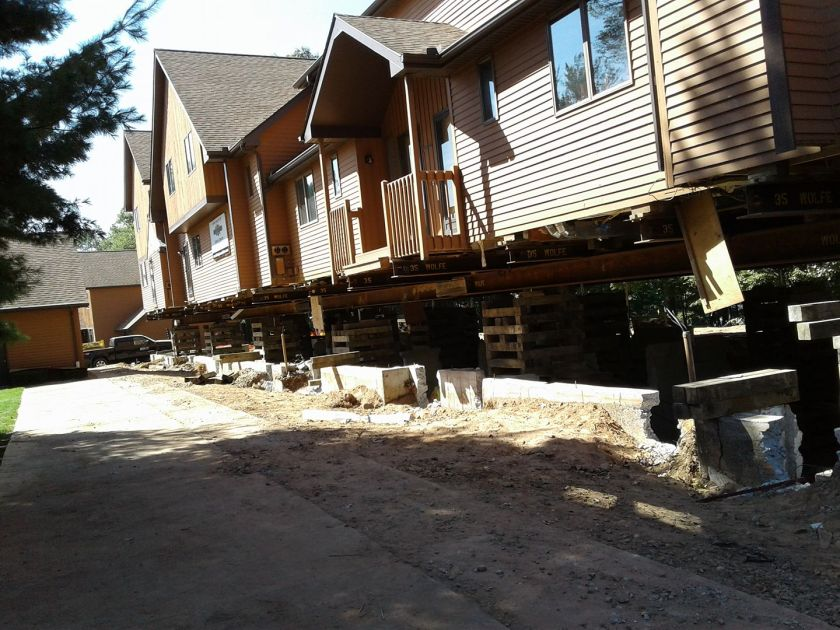 Lakeview condo Vernon CT crumbling foundation 1