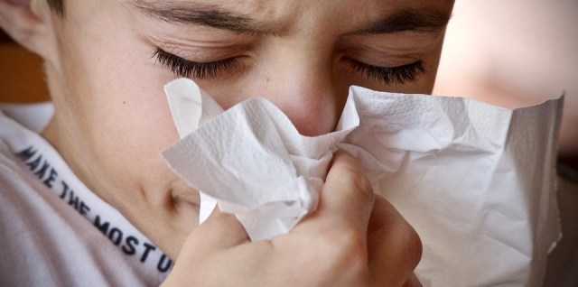 Cough sneeze runny nose mold sick