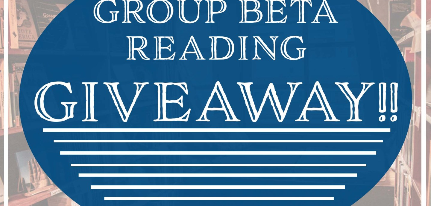 IBR Group Beta Reading giveaway awards one lucky author