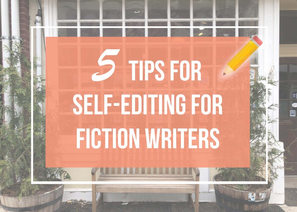 """This is an original photograph by Independent Book Review for the article """"5 Tips for Self-Editing for Fiction Writers"""" by Holly Tri."""
