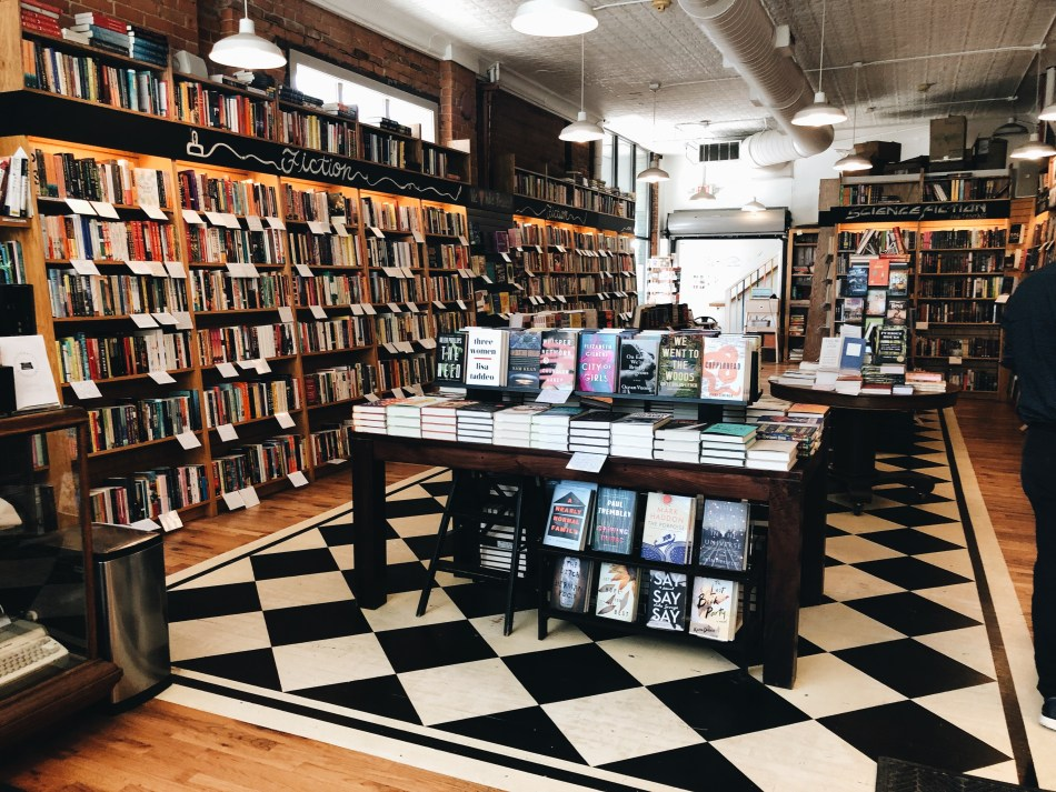 This is an original photo of Literati Bookstore in Ann Arbor Michigan, by Independent Book Review