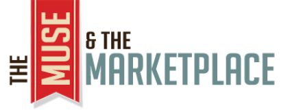 Logo for The Muse and the Marketplace, as used at Independent Book Review