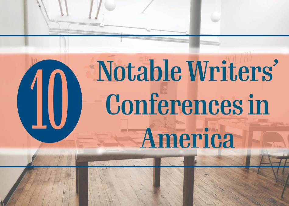 This is the original photograph of Independent Book Review blog post 10 Notable Writers' Conferences in America