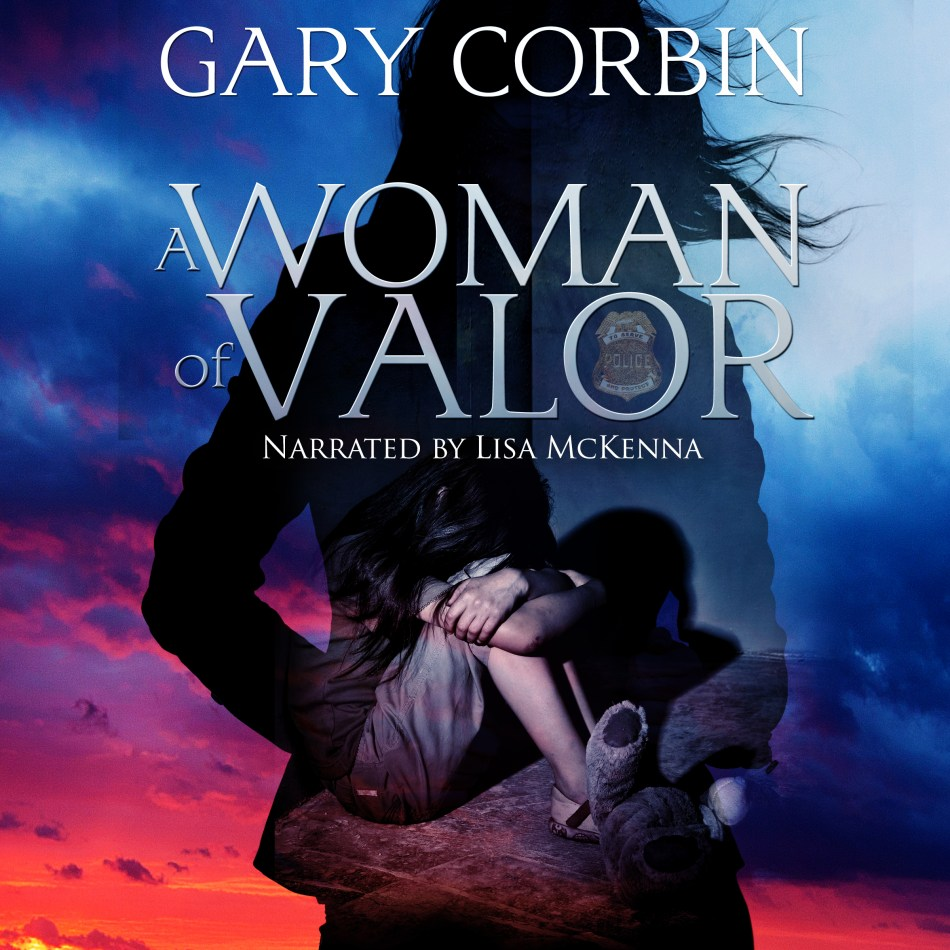 This is the audiobook cover of Woman of Valor by Gary Corbin, for a blog post about how to make an audiobook on Independent Book Review