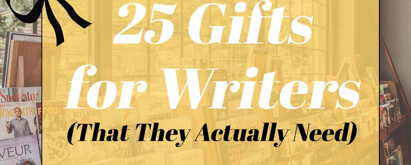 Featured photo for 25 gifts for writers that they actually need by Jaylynn Korrell
