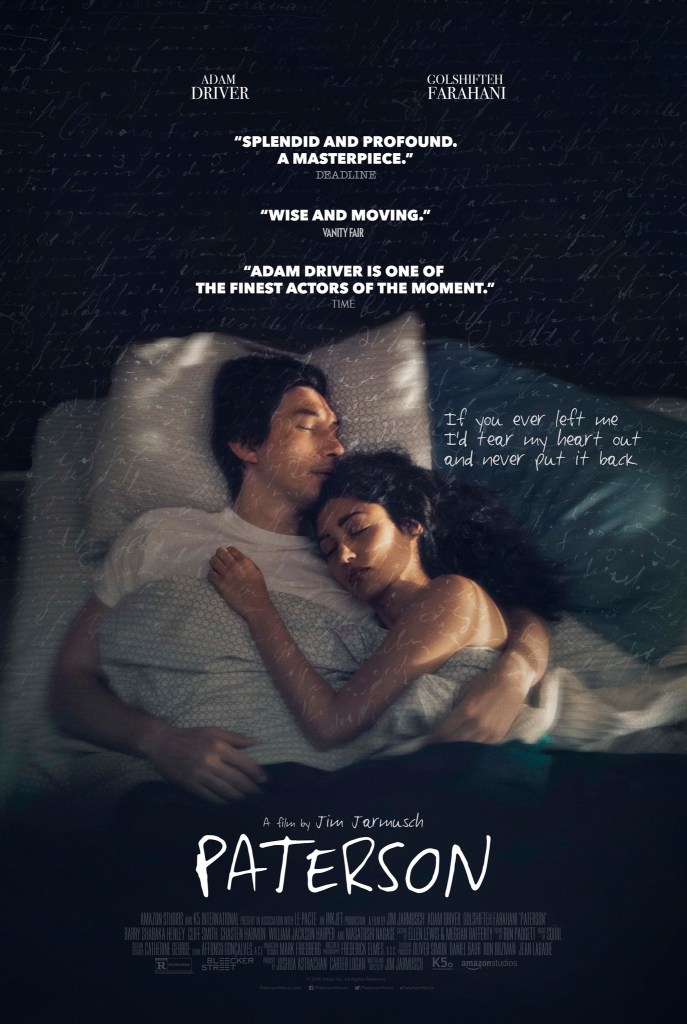 This is a photograph of Paterson movie for Independent Book Review blog post 20 Gifts for Writers They actually need.
