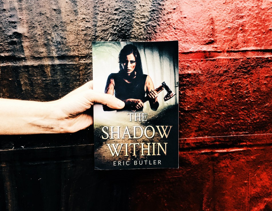 This is the paperback photo of the shadow within by Eric Butler, as taken by Independent Book Review