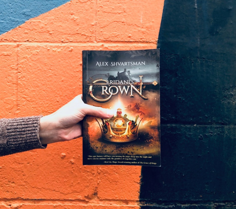 paperback photo of eridani's crown