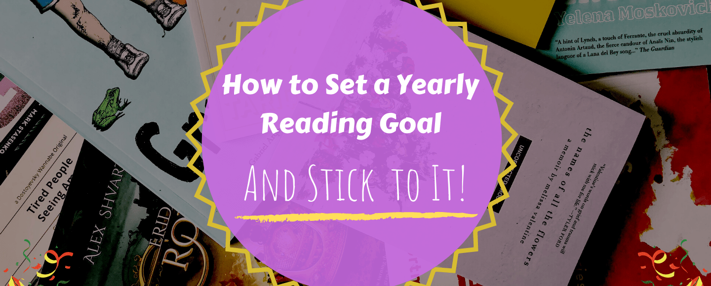 How to set a yearly reading goal
