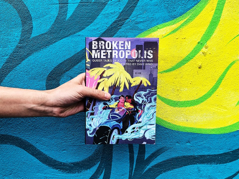 Original paperback photo for Broken Metropolis from dave ring and Mason Jar Press