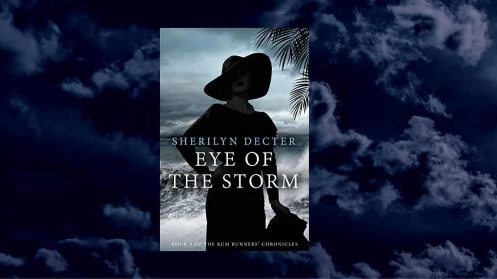 This is the featured photo for IBR's review of Eye of the Storm by Sherilyn Decter