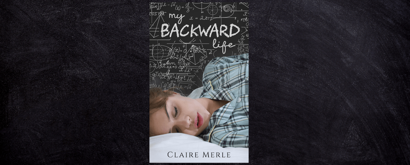 This the featured photo for My Backward Life by Claire Merle review