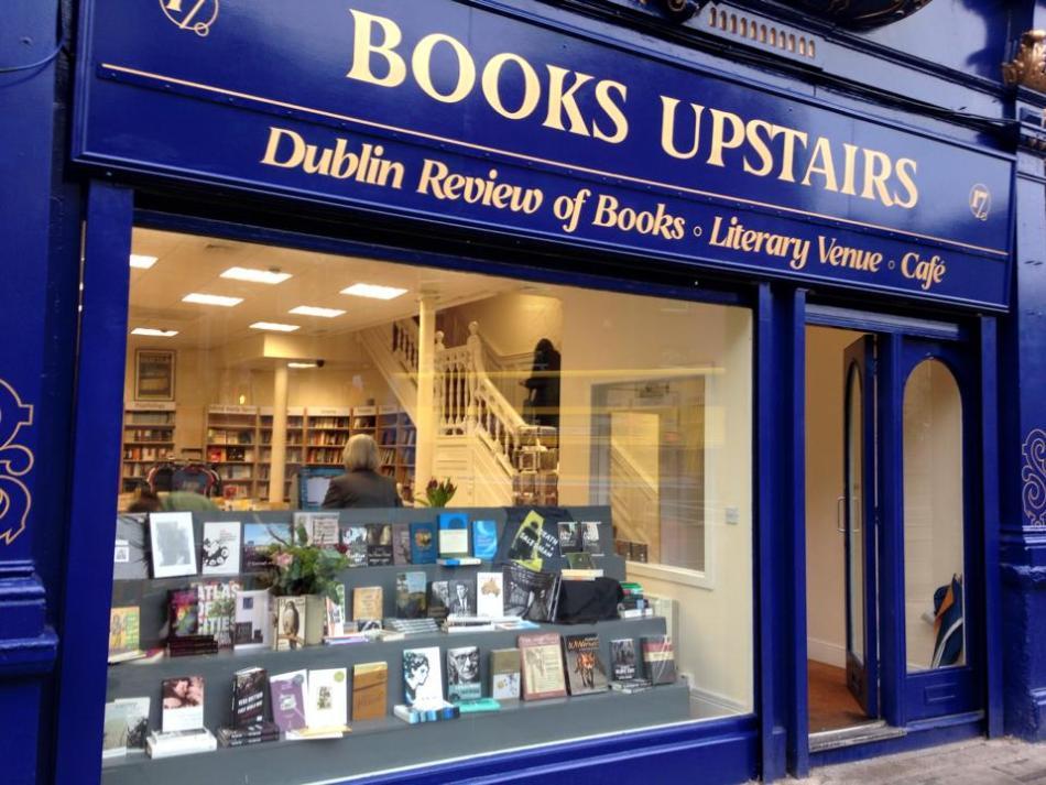 Books Upstairs in Dublin bookshop