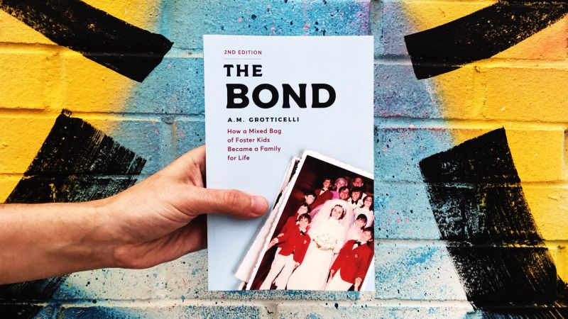 The Bond by AM Grotticelli paperback photo for review