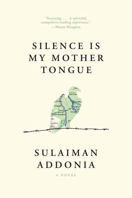 Book cover for Silence is My Mother Tongue by Sulaiman Addonia in LGBTQ book list for Independent Book Review