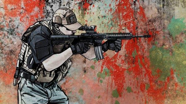 Blackwater Mercenary