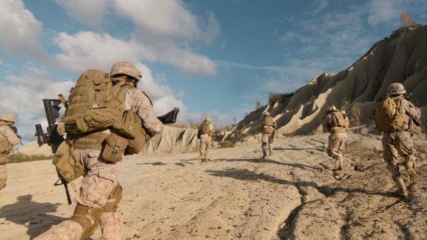 Troops Deploying