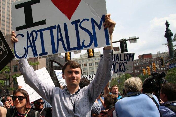 Charlie Kirk Counterprotest