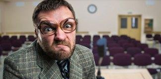 Enraged Professor