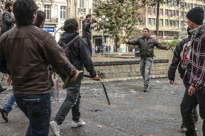 Gang Turf Fight