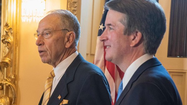 Kavanaugh And Grassley