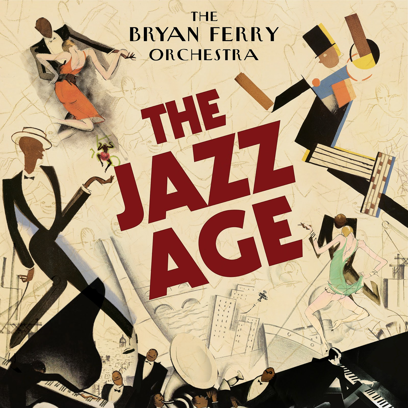 Album Of The Month Of February Bryan Ferry S Orchestra Jazz Age