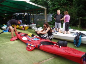 Packing Kayak