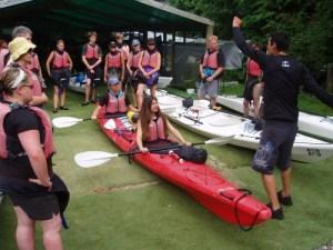 kayak paddle tecniques