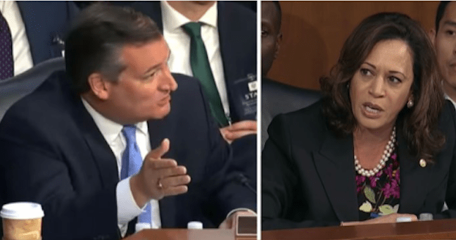 KARMA: After Kamala Harris Tried to Shut Down Judge Kavanaugh Hearing, Ted Cruz Exposed Her For Who She Truly is