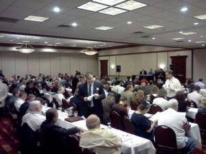 Texas Delegates voting for Senate Candidate