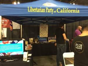 Libertarian booth