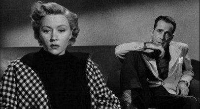 """Gloria Grahame and Humphrey Bogart in """"In a Lonely Place"""""""