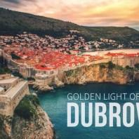 Golden Light of Dubrovnik