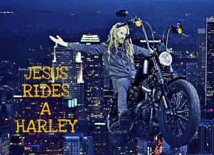 Jesus Rides A Harley