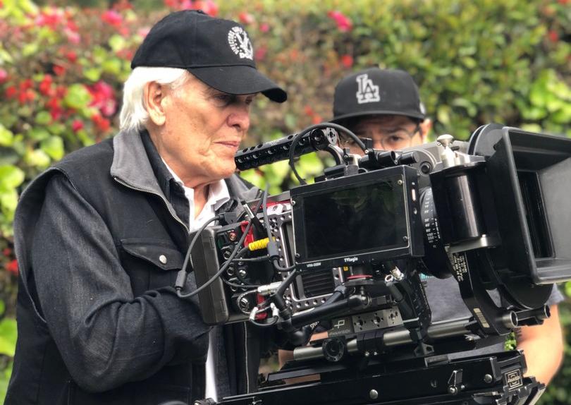 Harald Zwart on the set