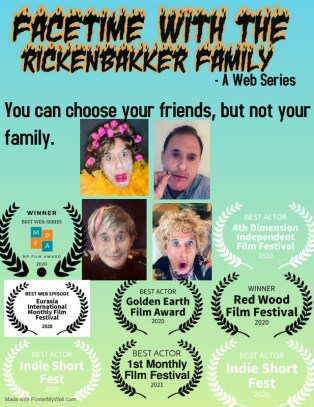 """""""Facetime With The Rickenbakker Family"""" , An Episodic Web Series"""