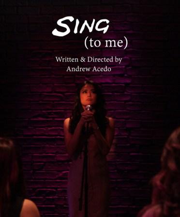 Sing (to me)
