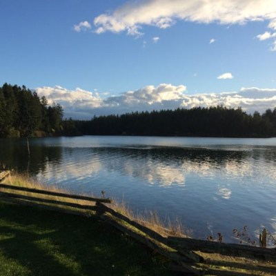 One of the views from English Camp, San Juan Island