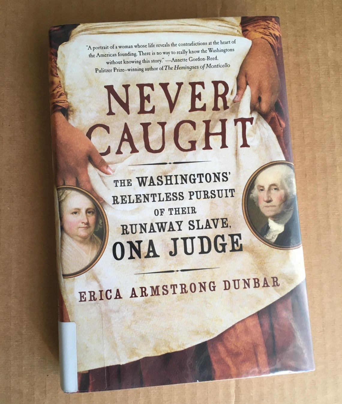 Cover of Never Caught by Dunbar