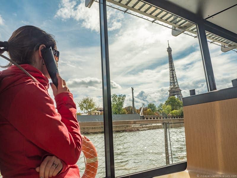 Paris Seine river cruises boat