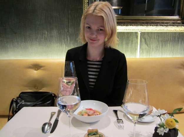 Lunch in Paris Michelin restaurants in Paris L'Astrance review